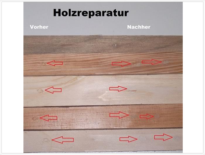 Holzreparatur