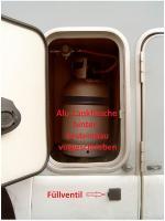 Alu-Tankflasche
