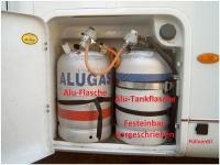 Alu-Flasche/Alu-Tankflasche